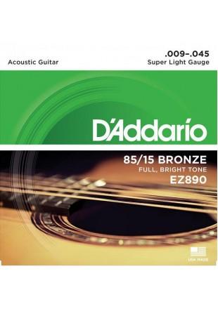 D'Addario EZ-890 struny do gitary akustycznej 9-45