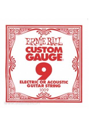 Ernie Ball 009 Struna pojedyncza elektryk-akustyk
