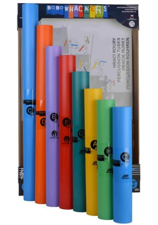 Bobotubes rurki perkusyjne Bobowhackers skala diatoniczna