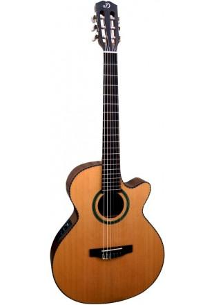 Dowina Rustica CLEC hybrydowa gitara elektroklasyczna