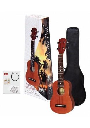 Miguel Almeria ukulele sopranowe Ukulele Pack Zestaw PS502820