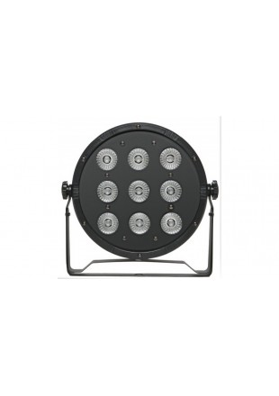 Fractal reflektor lampa Led Par 9 x 10 W