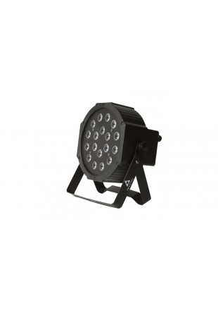 Fractal reflektor lampa Led Par 18 x 1 W