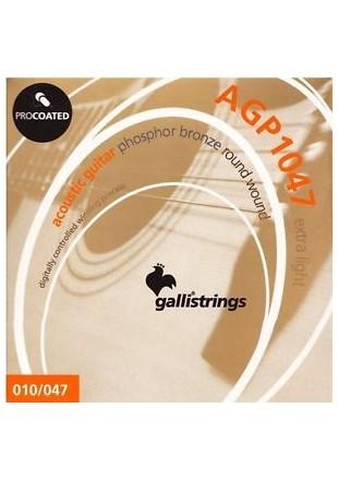 Galli AGP1047 Phosphor Bronze struny do gitary akustycznej 10-47