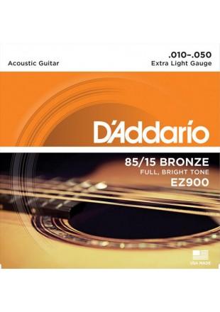 D'Addario EZ-900 struny do gitary akustycznej EZ-900 10-50