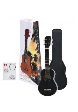 Miguel Almeria ukulele sopranowe Ukulele Pack Zestaw PS502822