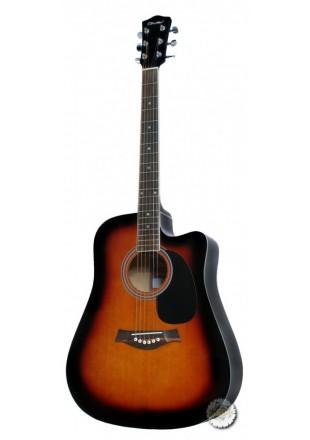 T.Burton Maiden gitara akustyczna W-C BS