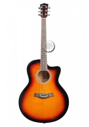 T.Burton Greengo gitara akustyczna J-C BS