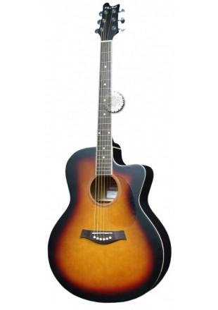 T.Burton Maiden gitara akustyczna J-C BS