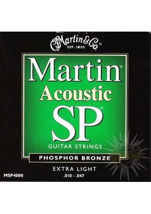 Martin struny do gitary akustycznej MSP 4000 10-47