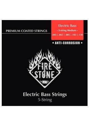 Fire & Stone struny do gitary E-basowej 45-130