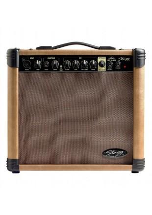 Stagg 20AA R wzmacniacz gitarowy akustyczny z Reverbem