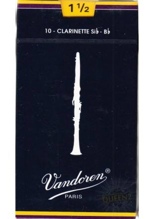 Vandoren stroiki do klarnetu B '1,5' 1szt