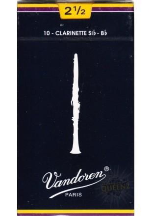 Vandoren stroiki do klarnetu B '2,5' 1szt