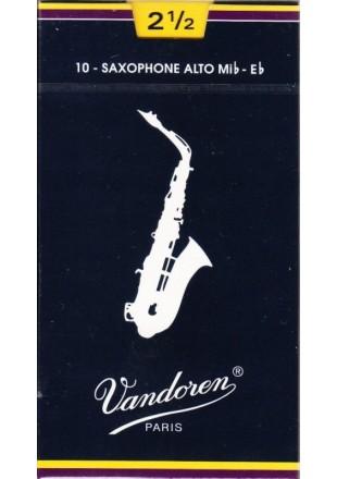 Vandoren stroiki do saksofonu altowego '2,5' 1szt