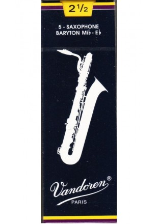 Vandoren stroiki do saksofonu barytonowego '2,5' 1szt