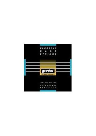 Warwick struny do gitary basowej Black Label4 Set M045/105