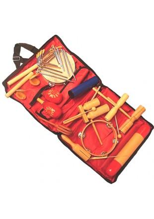 Velton zestaw 17 instrumentów perkusyjnych ZP 17 Orffa