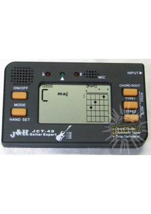J&H tuner chromatyczny Guitar Expert JCT- 40