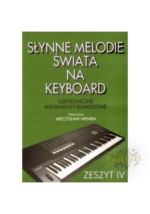 Mieczysław Niemira Słynne melodie świata na keyboard cz 4