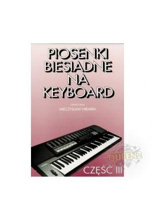 Mieczysław Niemira Piosenki biesiadne na keyboard cz3