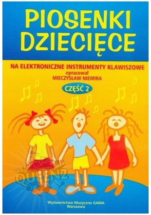 Mieczysław Niemira Piosenki dziecięce na keyboard cz2