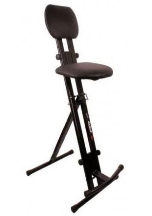 Akmuz T-6 Hoker krzesło , stołek dla muzyków oraz gitarzysty.