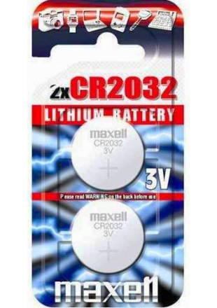 Maxell litowe baterie CR2032
