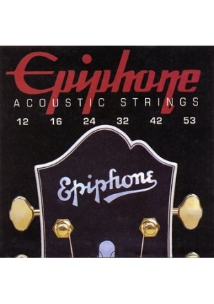 Epiphone struny do gitary akustycznej 12-53