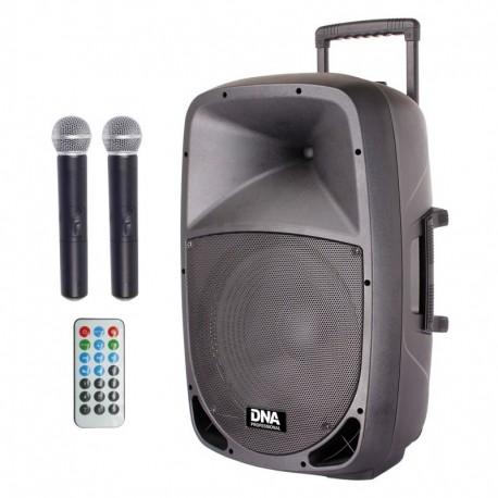 DNA DFM-15 MP3 aktywna kolumna zasilanie bateryjne