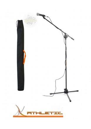 Athletic MIC 5E Statyw mikrofonowy + pokrowiec CB 1