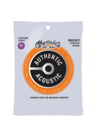 Martin struny do gitary akustycznej MA-535 FX 11-52