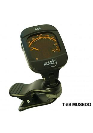 MUSEDO T-5S TUNER DO GITARY UKULELE SKRZYPCE BASU