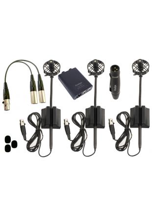 Prodipe UHF DSP AL21 PACK DUO - zestaw mikrofonów instrumentalnych do akordeonu
