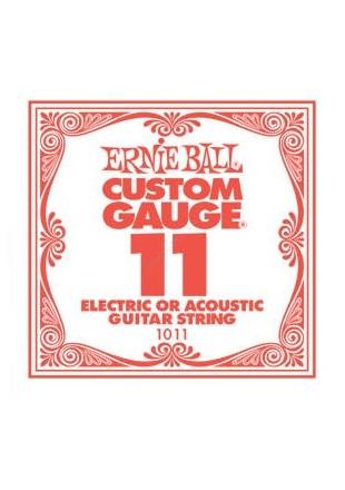 Ernie Ball EB 1011 Struna pojedyncza do gitary 011