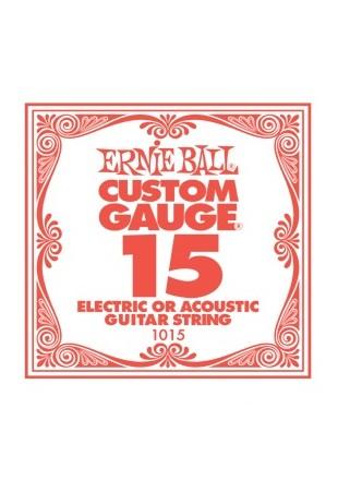 Ernie Ball EB 1015 Struna pojedyncza do gitary 015