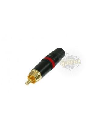 Neutrik wtyk RCA (Cinch) NYS 373-2