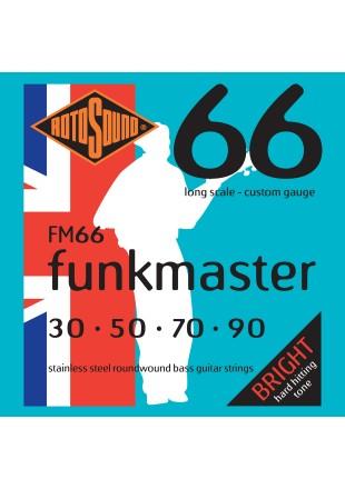ROTOSOUND FM66 STRUNY DO GITARY BASOWEJ 30-90