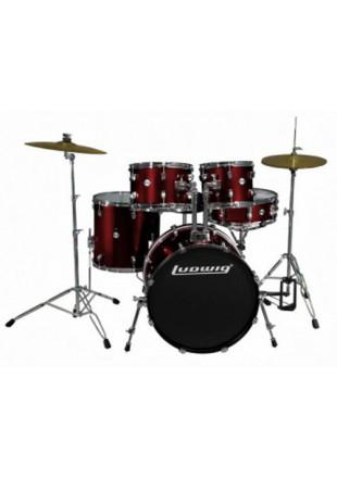 """Ludwig Accent """"Fuse"""" zestaw perkusyjny w/hardware LC 170_4 - Przesyłka gratis!!!"""