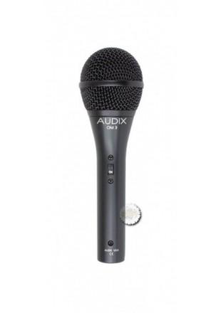 Audix mikrofon OM 3S dynamiczny z wyłącznikiem- Przesyłka gratis!!!